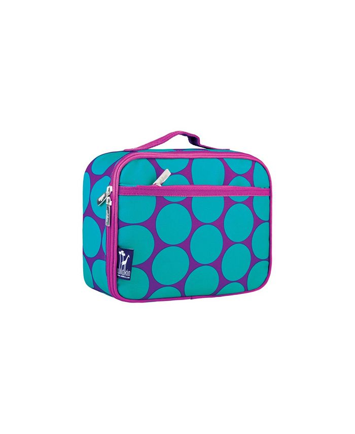 Wildkin - Big Dot Aqua Lunch Box