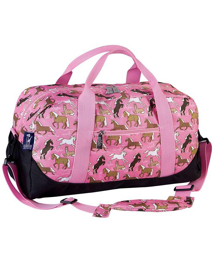 Wildkin - Horses in Pink Overnighter Duffel Bag