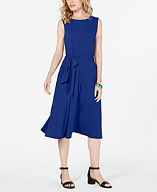 Tie-Waist Midi Dress, Created for Macy's