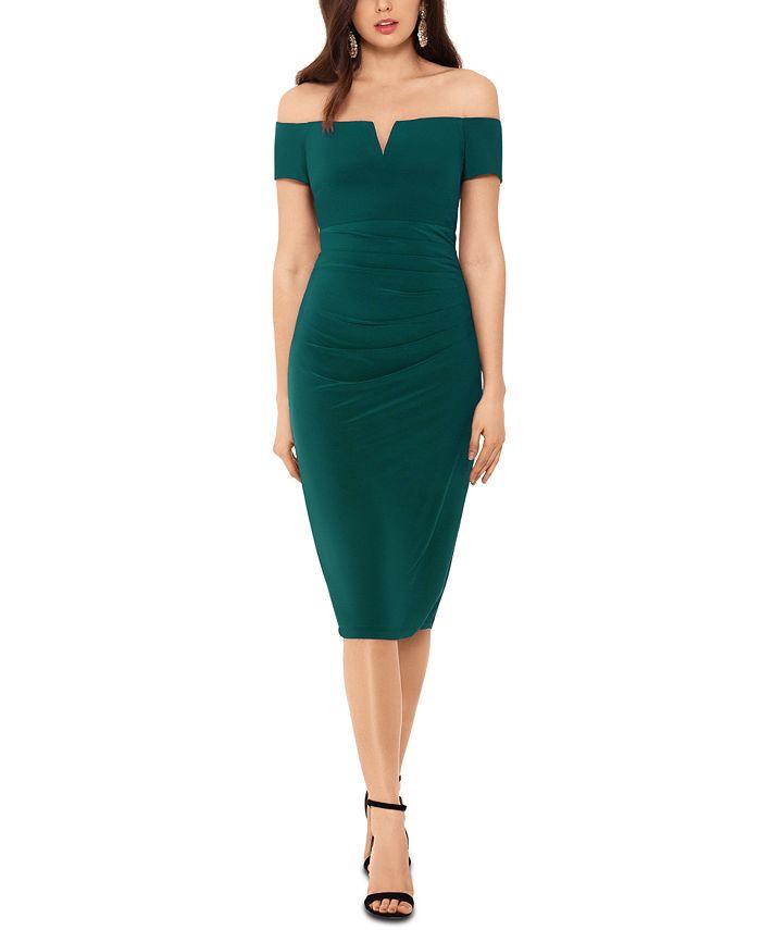 XSCAPE - Off-The-Shoulder Dress