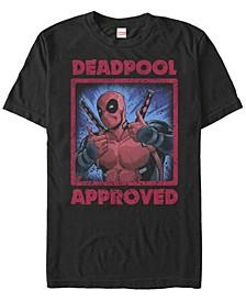 Men's Deadpool Approved Short Sleeve T-Shirt