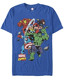 Men's Comic Collection The Mighty Five Short Sleeve T-Shirt