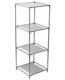 HDS Trading Multi-Purpose Free-Standing 3 Cubed Organizing Storage Shelf