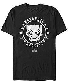 Men's Black Panther Wakanda Warrior Short Sleeve T-Shirt