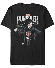 Marvel Men's Punisher The Punisher Portrait Short Sleeve T-Shirt