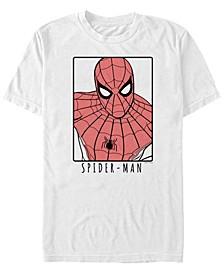 Men's Spider-Man Painted Spider-Man Portrait Short Sleeve T-Shirt