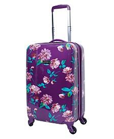 "Jessica Simpson West Coast 20"" Hardside Spinner Suitcase"