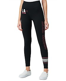 Juicy Couture Striped Graphic Leggings