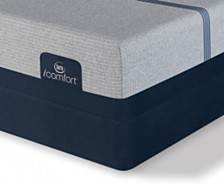 i-Comfort by Serta BLUE Max 3000 14'' Elite Plush Mattress Set- Queen Split