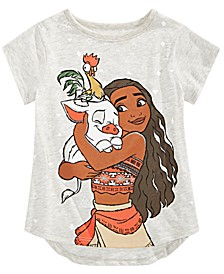 Little Girls Moana T-Shirt