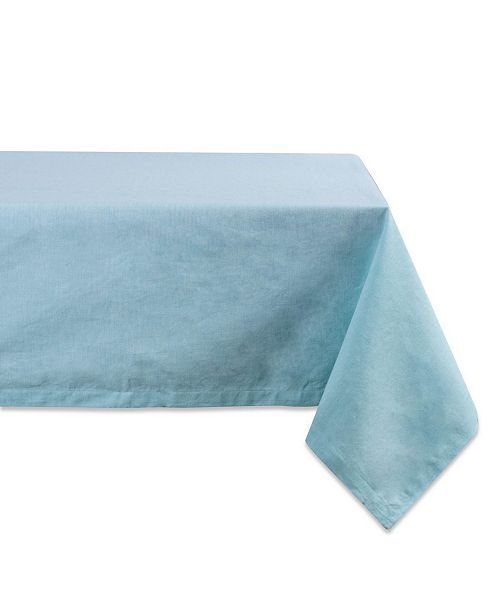 "Design Import Table Cloth Solid Chambray 60"" x 84"""