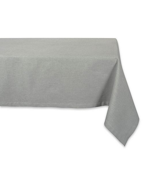"Design Import Solid Chambray Tablecloth 60"" x 104"""