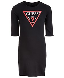 GUESS Big Girls Cotton Logo T-Shirt Dress