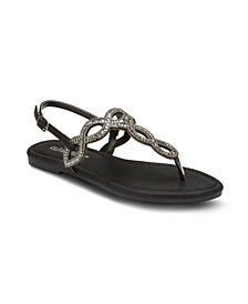 Olivia Miller Candy Kisses Infinity Strap Sandals