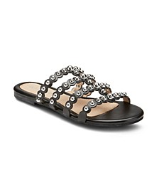 Piece of Cake Beaded Sandals