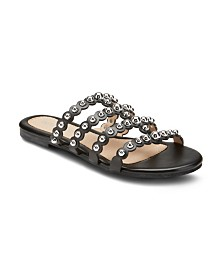 Olivia Miller Piece of Cake Beaded Sandals
