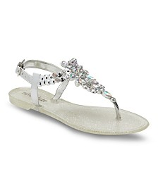 Olivia Miller Dine and Dash Jelly Sandals