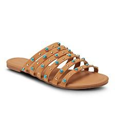 Olivia Miller Dreamer Studded Sandals