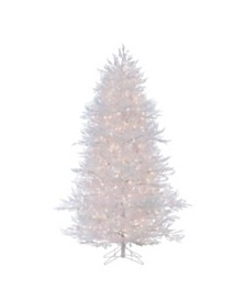 Sterling 7Ft. Lightly Flocked White Twig Tree with 650 Clear Lights