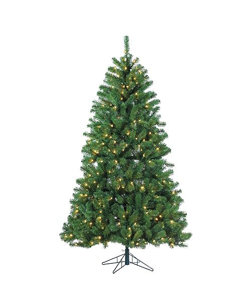 Sterling 7Ft. Pre-Lit Montana Pine with 400 warm white LED lights