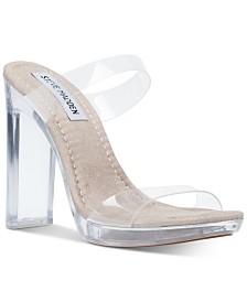 37d357e608f Steve Madden Women's Camille Vinyl Sandals & Reviews - Sandals ...