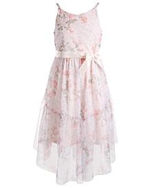 Big Girls Floral-Print Dress