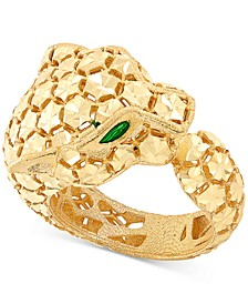 Effy Oro by EFFY® Bead-Design Panther Ring in 14k Gold