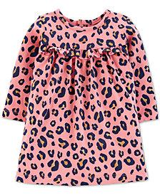 Carter's Baby Girls Leopard-Print Cotton Dress