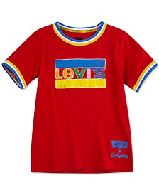 Little Boys Crayola Collection Logo-Print Cotton T-Shirt