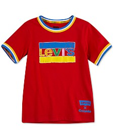 Levi's® Little Boys Crayola Collection Logo-Print Cotton T-Shirt