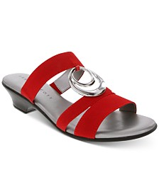 Karen Scott Evonne Slip-On Sandals, Created for Macy's