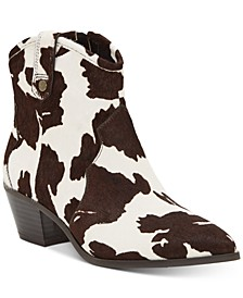 INC Latisha Western Bootie, Created for Macy's