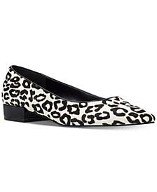 Fayth Almond-Toe Flats
