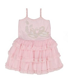 Masala Baby Girl Swan Song Tulle Dress