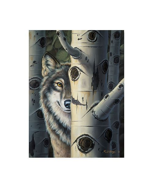 "Trademark Global R W Hedge Disguise Canvas Art - 36.5"" x 48"""
