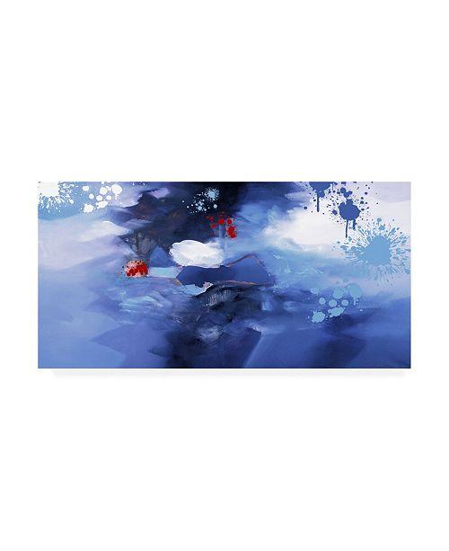 "Trademark Global Zavaleata Infinite Clouds Canvas Art - 15.5"" x 21"""