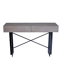 Tiburon Console Table Pale