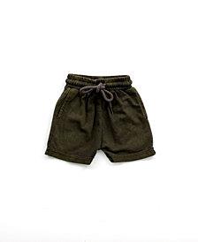 Bear Camp Big and Little Boy Mineral Wash Jogger Shorts