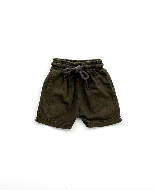 Bear Camp Little Boy Mineral Wash Jogger Shorts