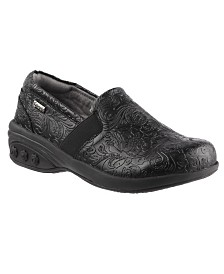 Therafit Shoe Annie Slip Resistant Leather Slip On