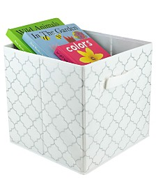 HDS Trading Metallic Lattice Collapsible Non-Woven Storage Cube