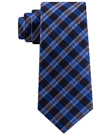 Tommy Hilfiger Men's Brooklyn Classic Plaid Tie