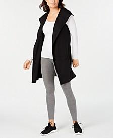Sleeveless Hooded Wrap, Created for Macy's