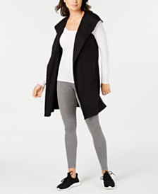 Ideology Sleeveless Hooded Wrap, Created for Macy's