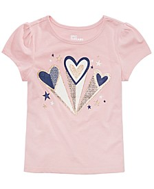 Toddler Girls Hearts T-Shirt, Created for Macy's