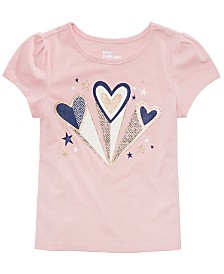 Epic Threads Little Girls Hearts T-Shirt, Created for Macy's