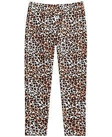 Little Girls Leopard-Print Leggings, Created for Macy's
