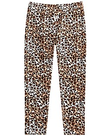 Epic Threads Toddler Girls Cheetah-Print Leggings, Created for Macy's