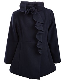 Toddler Girls Ruffled Coat