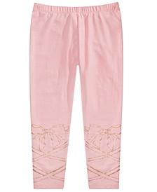 Toddler Girls Glitter Bow Leggings, Created for Macy's